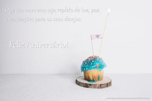 Repleto de Luz - Mensagens de Aniversário