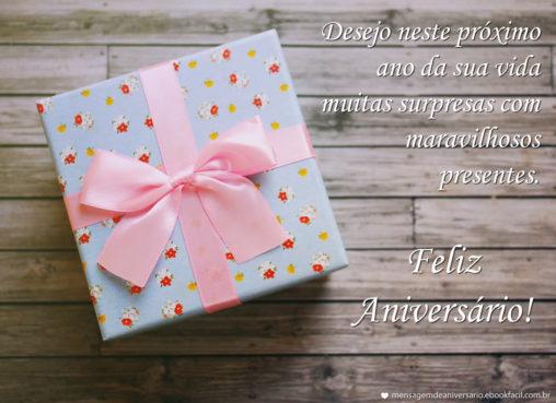 Maravilhosos Presentes - Mensagens de Aniversário