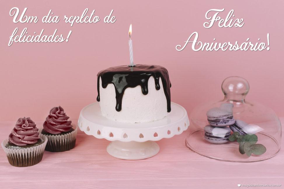 Repleto de Felicidades - Mensagens de Aniversário